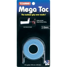 Tourna Mega Tac XL Overgrip Blue x 3