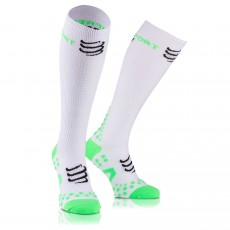 Compressport Racket Full Socks Recovery Blanches