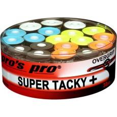 Pro's Pro Overgrip Super Tacky + x 30 Mixed